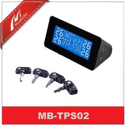 Wholesale Tire Gauge Solar - Car Solar Energy Tpms With Internal Sensor 433.92MHz DIY Tire Pressure Gauge
