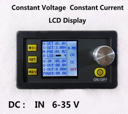 Wholesale Fan Module - New DP30V3A LCD display Constant Voltage current Step-down Programmable Power Supply module buck DC power converter with fan