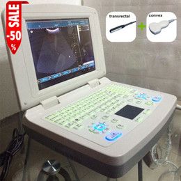 Wholesale Veterinary Portable Ultrasound - 3D notebook veterinary ultrasound B Scanner, ultrasound machine, animal ultrasound Scanner, echographe portable, free shipping