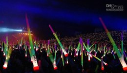 Wholesale Telescopic Light Stick - Brand new Low price Telescopic Glow Sticks Flash Light Up Toy Fluorescent Sword Concert Christmas Carnival Toys