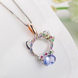 Wholesale Kitty Shorts - Kingco Brand 2015 New Vogue MultilayerAlloyShort Kitty Necklace For Women Fine Jewelry DC0080