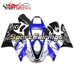Wholesale 98 R1 Blue Fairings - Fairings For Yamaha YZF1000 R1 Year 98 99 1998 1999 ABS Motorcycle Fairing Kit Bodywork Motorbike Cowling Fairings Yamalube Blue White Black