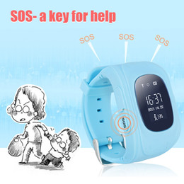 22d8d00bf5e Venda por atacado - Smart Watch Kid relógio de pulso Q50 SOS GSM GPRS  localizador GPS Tracker Anti-Lost Smartwatch guarda de criança para iOS  Android