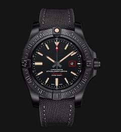 Wholesale Military Automatic Sports Watch - 44mm AVENGER BLACKBIRD V17311 V1731110 200m 600ft selfwinding mechanical automatic sapphire men watch wristwatch chronometer military strap