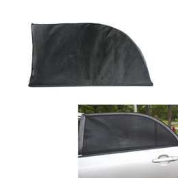 Wholesale Window Sunshade Mesh - 2PCS Universal Adjustable Car Sun Shades UV Protection Window Shield Mesh Cover Car Sun Visor window foil Sunshades XL 126*52cm order<$18no