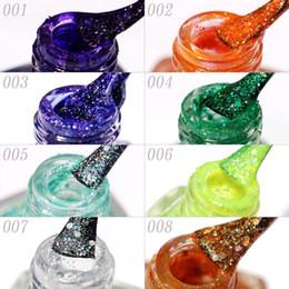 Wholesale Sequins Nail Polish - 2017 laser sequins nail polish MYDANCE environmental non-toxic tasteless nail water-based nail polish, 16 colors optional!