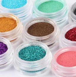 Wholesale Loose Makeup Eye Glitter - Newest Pro Eye Shadow Makeup Cosmetic Shimmer Loose Powder Pigment Mineral party bar dance Glitter Spangle Eyeshadow 60 Colors drop shipping