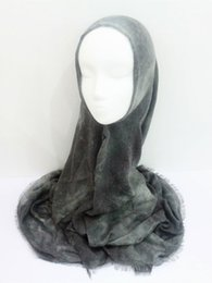 Wholesale Scarves Islamic Women - Hot Sale Scarf Graffiti Painting Shawls Women Cotton Linen Scarves And Shawls Big Size Printed Muslim Scarfs Islamic Hijabs FS843