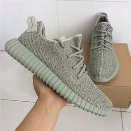 Wholesale Mens Diving - 2017 Wholesale Discount Y 350 Boost Turtle Dove Running Shoes wholesale shoes Cheap Kanye West Sports shoes mens sneakers women With Box