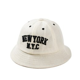 Wholesale Beaches New York - 3 Color New York Bucket hats Buckets caps Bucket Hats Baseball Caps Cap Snap Back Snapbacks Hat High Quality Mixed Order F249