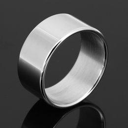 Wholesale Stainless Steel Scrotum Toys - Stainless Steel Small Cock Rings Metal Cockring for Men Ball Stretcher SM Toys Penis Ring Scrotal Scrotum Bondage Ball