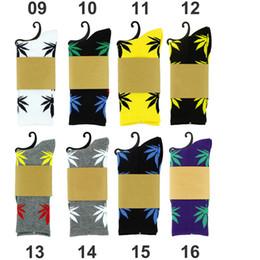 Zapatos de estilo de hombre de damas online-Calcetines largos del barco del estilo grueso Marca de señoras Calzado atlético del deporte Calcetín del baloncesto Calcetines de la hoja de Meias para hombres Mujeres ZJ16-S03