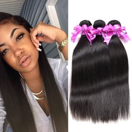 Wholesale Cheap Quality Hair Weave - Best Selling Brazilian Virgin Hair Straight 4 Bundles Brazillian Straight Hair Top Quality Unprocessed Cheap Brazilian Hair Weave Natural