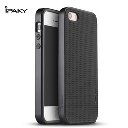 Wholesale Original Neo Hybrid - 100% original ipaky brand Back Cover Silicon Neo Hybrid Case for iPhone5 for iphone 5s for iphone SE cover without tracking