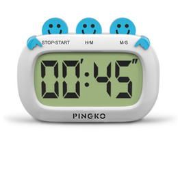 Wholesale Timer 24 Hours Digital - Digital Kitchen Timer Fashion Design Clock Cooking Timer with Big Digits Large LCD Display Loud Alarm Magnetic Backing Stand