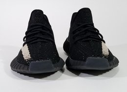 Wholesale Media Photos - yumatrade Actual Photos Kanye West SPLY-350 Boost V2 550 Boost BB1826 STEGRY BELUGA Men Running Shoes Sports Sneakers (with Original Box)