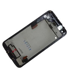 Wholesale Butterfly Sensor - Touch Screen Glass Sensor Digitizer + LCD Display Panel Screen Monitor Assembly+Black Frame For HTC X920E Butterfly DNA