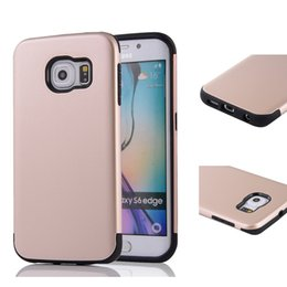 Wholesale Defender Case For S4 - TPU Plastic Hybrid Heavy Duty Armor Phone Case For Samsung Galaxy S4 S5 S6 Edge Plus S7 Edge Hard Shockproof Defender Back Cover C5 C7