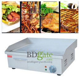 Wholesale Griddles Electric - Home Party Cafe Tea Shop Commercial use 110V 220v Electric Frying equipment Electric Griddle Hand grab Frying