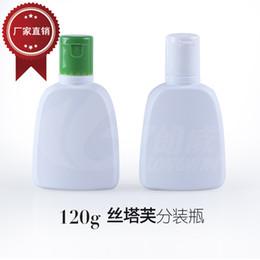2019 shampooings bouchons Bouteille d'émulsion blanche de bouteille de crème de bouteille d'ANIMAL FAMILIER de 120g bouteille d'émulsion pour le shampooing témoin shampooings bouchons pas cher