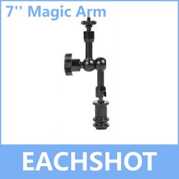 Wholesale Dslr Rig Lcd - Wholesale-7 Inch Magic Arm, for Camera Camcoder DV LCD Monitor LED light Shoemount DSLR Rig