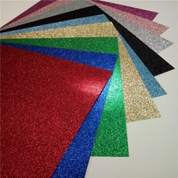 Wholesale 20 sheet X12inch colorful glitter paper decoration card stock all occasion glitter paper stack Manufacturi