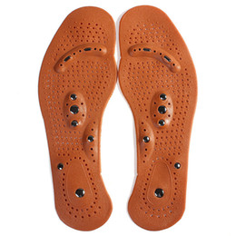 Wholesale Magnetic Cleaning - Wholesale-Clean Health Foot Feet Care Magnetic Therapy Massage Insole Shoe Boot Thenar Pad FM1188