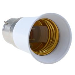 Wholesale B22 E27 Converter - 1PC B22 to E27 Base LED Light Lamp Bulb Adapter Converter Socket Extender E00366
