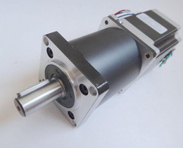 Wholesale Planetary Gearbox Motor - NEMA 23 Planetary Gearbox Stepper Motor 5:1 10:1 Max 12N.m (1667oz-in) 76mm Motor Body Nema23 Geared Stepper Motor