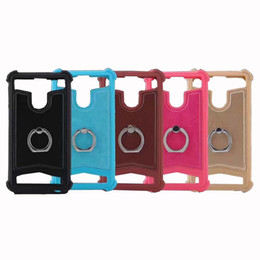 cellphone ring case Coupons - Universal TPU cover silicone phone Leather case for Archos 45 Helium 45 Titanium 45b Helium #3 Gophone Ring Stand Cellphone Cases