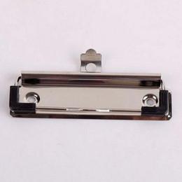 Yaratıcı 10 adet Metal 10 cm Kurulu Klipler Yüksek Kalite Metal Bağlayıcı WordPad Klipler Ücretsiz Kargo Okul Ofis Yeni Bahar Klip Malzeme Escolar nereden toptan ahşap küçük klipler tedarikçiler
