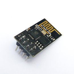 Wholesale Ap Module - Free Shipping 1pcs ESP8266 ESP-01 Serial WIFI Wireless Transceiver Module Send Receive LWIP AP+STA for arduino