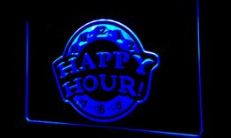 Wholesale Happy Hour Signs - LS190-g HAPPY HOUR Beer Bar Pub Club NEW Neon Light Sign