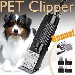 Wholesale Black Dog Machine - Electric Hair Cutting Machine For PET Professional Dog Hair Trimmer Set Grooming Clipper Animal Shaving Razor