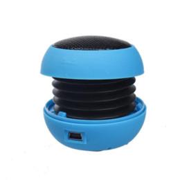 Wholesale Hamburger Loudspeaker - Top Quality Mini Portable Hamburger Speaker Amplifier For iPod For iPad for iPhone Laptop Tablet PC Hi-Fi Sound Loudspeaker S2
