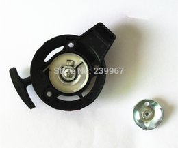 Wholesale Gx25 Parts - Recoil starter + claw for Honda GX25 engine strimmer free shipping pull start + cup replacement part