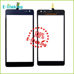 Wholesale Replacement Works - Latest Full New Wholesale price 100% working well black touch screen digitizer replacement for Nokia Lumia 535 free shiphing and tracking NO