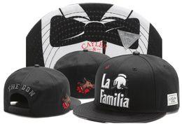 Wholesale La Snapback Hat Women - Cayler & Sons snapback hats the don la familia Paisley , classic men & women skateboard adjustable basketball caps wholesale freshipping!