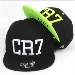 Wholesale Snapback Hats Child - 2016 new summer children Ronaldo CR7 Snapback hats kids baseball boys girls MESSI Neymar casquette Hip Hop Caps
