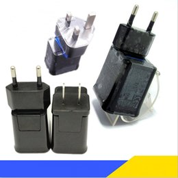 Wholesale Galaxy Tab Eu Charger - REAL 2A 1A USB Wall Charger AC Power charger Adapter US BS EU For Samsung tab P1000 P6200 P3100 P7500 P5100 N8000 N8010