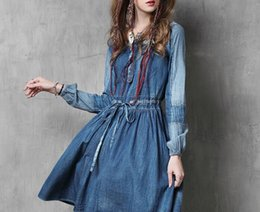 Cheap Long Vintage Denim Skirt | Free Shipping Long Vintage Denim ...