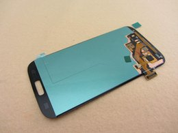 Wholesale Galaxy S4 Digitizer Assembly - For Samsung Galaxy S4 i9500 Original LCD Display Digitizer Touch Screen Assembly SIV i9505 i9506 i337 545 Ecran Tactil Glass Without Frame