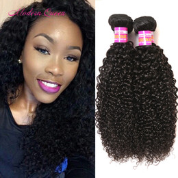 Wholesale Wholesale Hair Pieces For Sale - Malaysian Kinky Curly Hair Extensions 4 Pieces Malaysian Afro Jerry Kinky Curly Human Hair Weave 4 Bundles For sale Big Promotion Sales