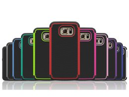 Wholesale Nexus Rugged - Shockproof Football Hybrid Rugged Impact Plastic Silicone Dual Protector Case For Samsung Galaxy S6 S7 Edge Plus A7 A8 A9 LG Nexus 5X V10