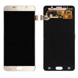 Wholesale Note Touch Digitizer Screen - Original LCD Display For Samsung Galaxy Note 5 N9200 N920A N920T N920V N920P Touch Screen Digitizer Assembly Replacement With DHL Free