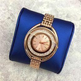 2020 moda modelo superior TOP modelo de luxo mulheres assistir brilhar cheio de diamantes da senhora cadeia de aço relógio de pulso de quartzo de luxo de alta qualidade lazer moda top designer moda modelo superior barato