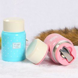 Wholesale Wholesale Vacuum Products - Christmas new HOT Stainless Steel lunch box Insulated Vacuum Bottle High Luminance lunch box DHL shippment