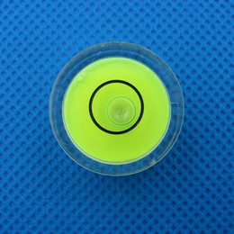 Canada (50 pièces / lot) 25 * 10mm Bullseye Circule Niveau Universel Instrument de mesure de niveau à bulle Pièces Offre