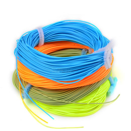 Wholesale Green Lake - Hot New Wholesale 100FT Weight Forward Floating Fly Fishing Line WF-2F 3F 4F 5F 6F 7F 8F Fly Line