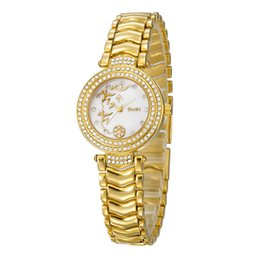 Wholesale Cheap Fashion Designer Jewelry - Top Fashion Women's Wristwatches BELBI Alloy Strap Diamond and Special Dial Designer Luxury Ladies Watches Life Waterproof Cheap Round Watch